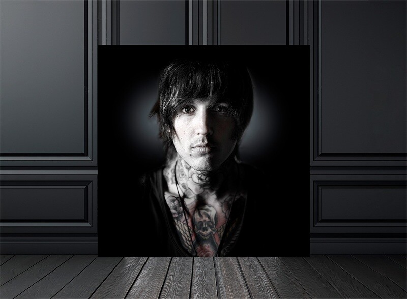 TIRAGE PHOTO BRING ME THE HORIZON - Edition 30 exemplaires