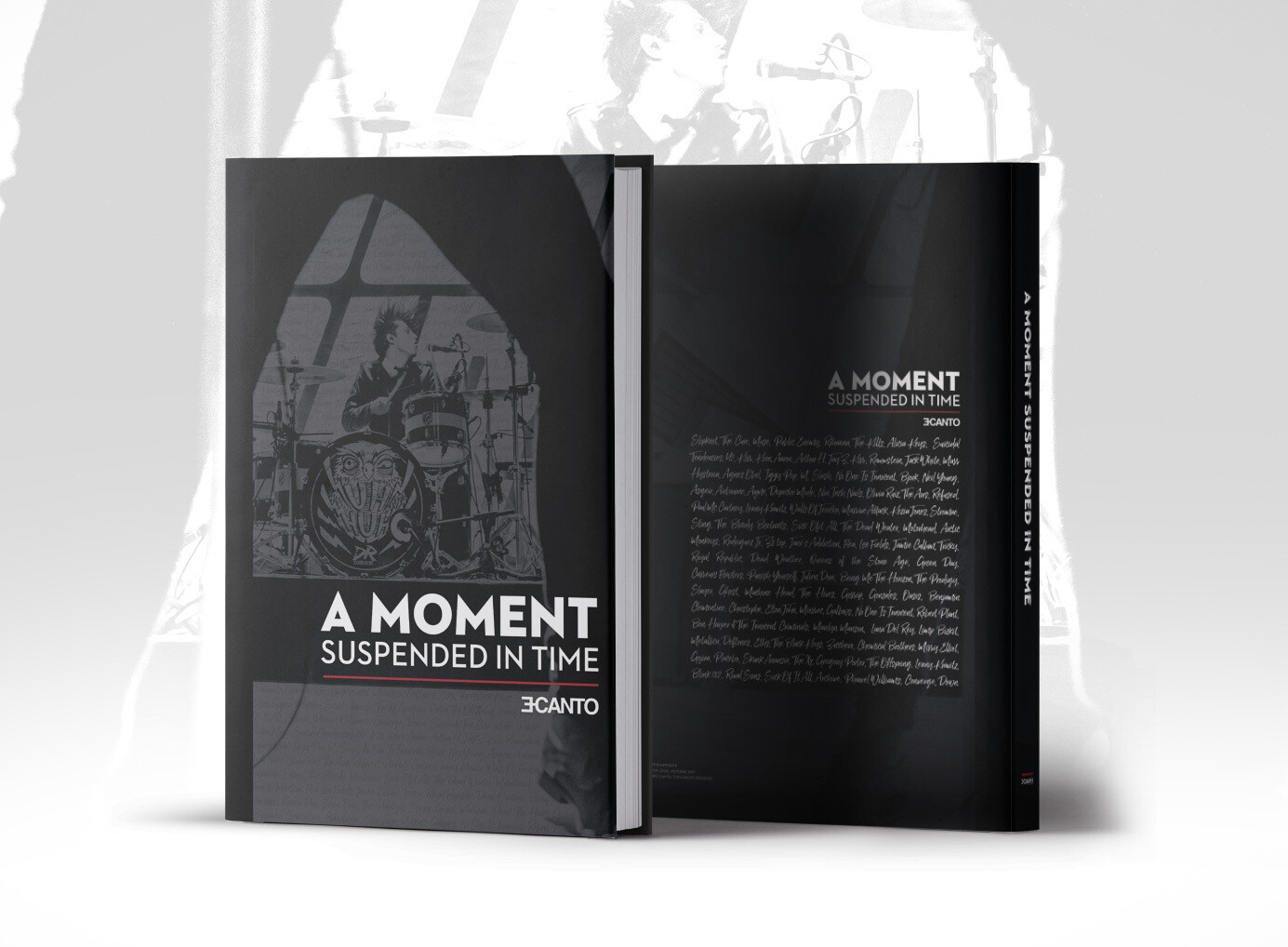 """""""A MOMENT SUSPENDED IN TIME"""" - Livre photos concert"""