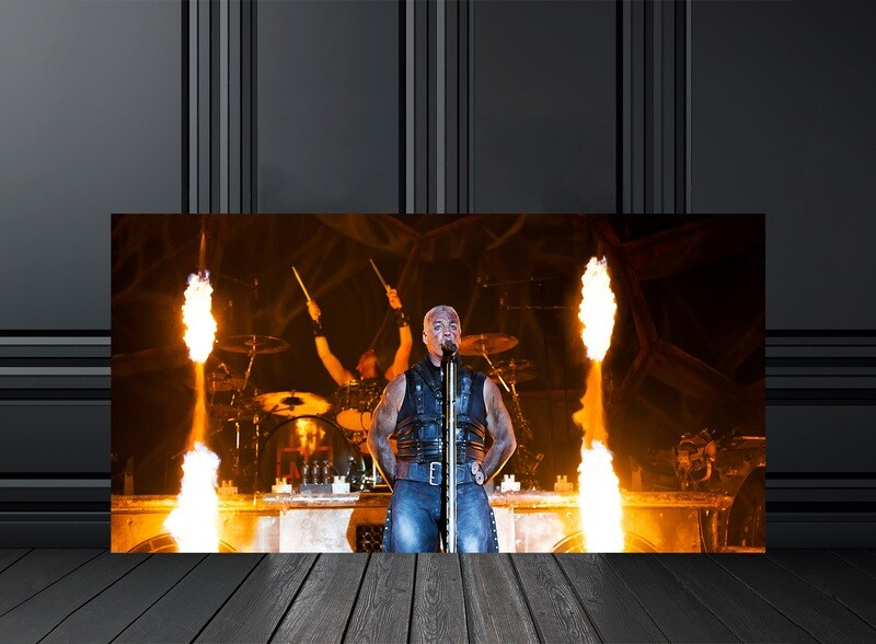 TIRAGE PHOTO RAMMSTEIN  - Edition 30 exemplaires