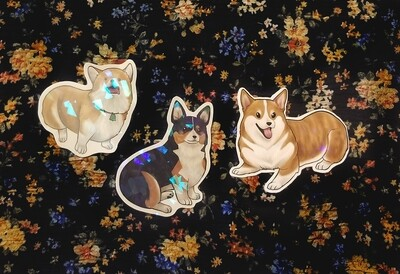 Animal holographic stickers