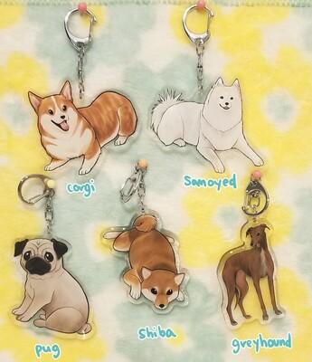 Animal acrylic charms
