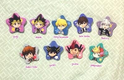 Yu-gi-oh star buttons