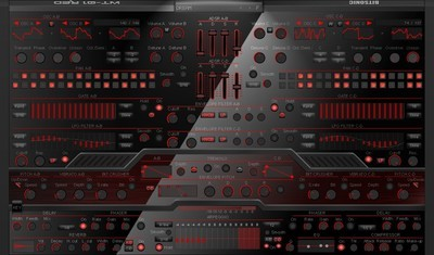 WT-01 RED Synthesizer