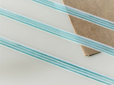 Super Slim Turquoise Washi Tape 5mm