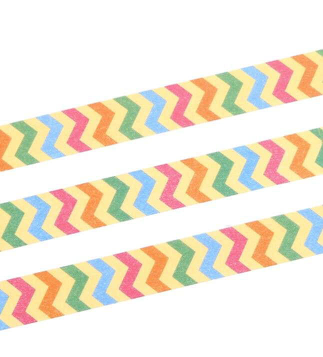 Colourful Zigzag Tape 15mm