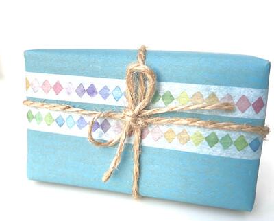 Rainbow Diamond Washi Tape  8mm