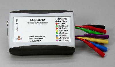 IX-ECG12 12-Lead ECG Recorder with LabScribe Software