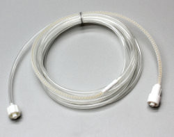 8' Meshed Nafion Tubing with filter and luer connector