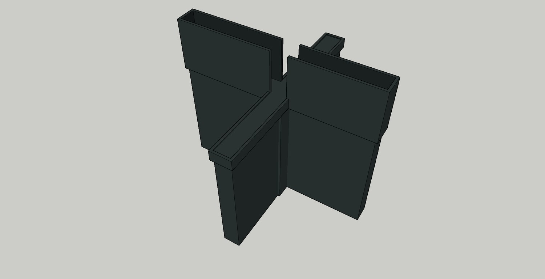 Elevated Plus Maze - Black - Mouse
