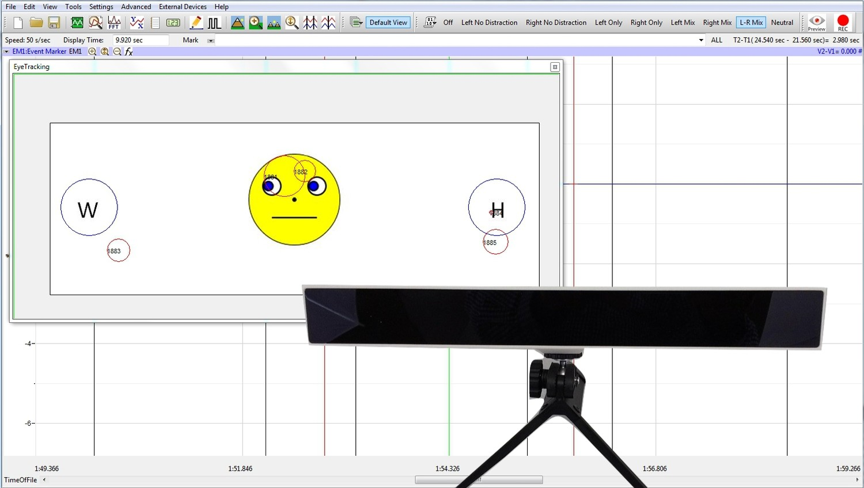 Gazepoint Eye Tracker with LabScribe eye tracking module
