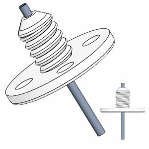 Single Flanged Guide Cannula for Mice