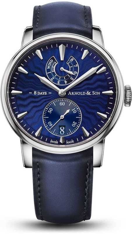 Arnold & Son Eight-Day Royal Navy Blue Dial 1EDAS.U01A.D136A