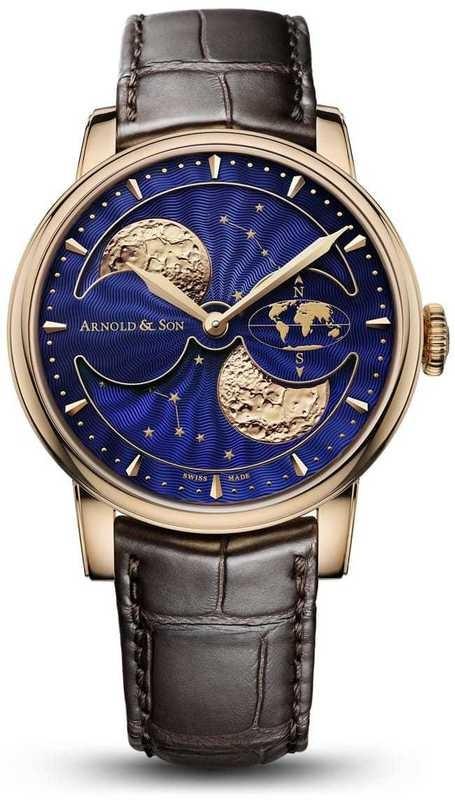 Arnold & Son HM Double Hemisphere Perpetual Moon 1GLAR.U03A.C122A