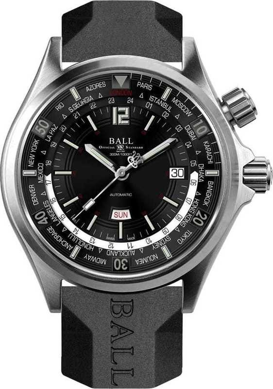Ball Watch Engineer Master II Diver Worldtime DG2022A-P3A-BK