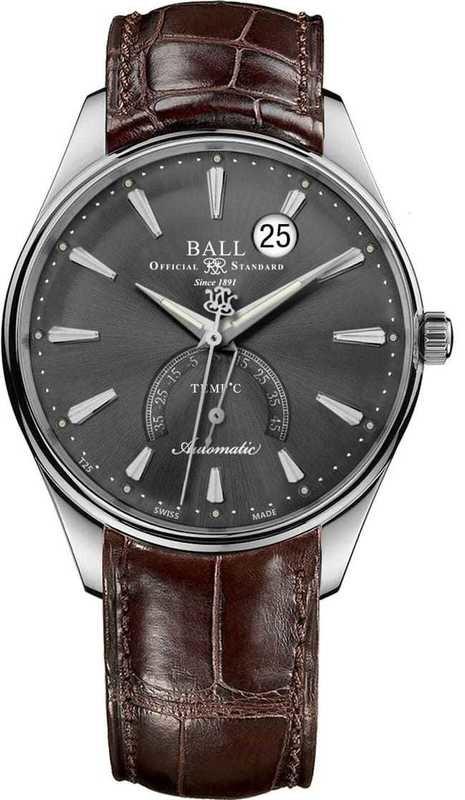 Ball Watch Trainmaster Kelvin Celcius Scale NT3888D-LL1J-GYC