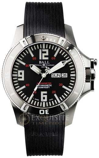 Ball Watch Engineer Hydrocarbon Spacemaster Glow DM2036A-PCA-BK