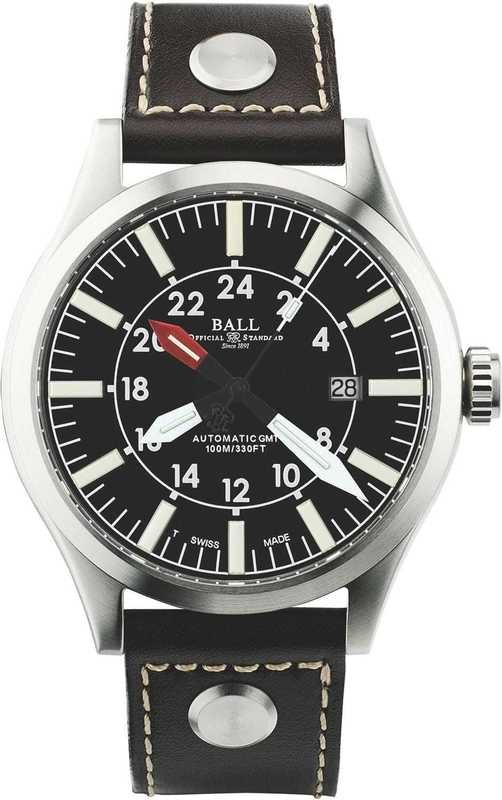 Ball Watch Engineer Master II Aviator GMTGM1086C-LJ-BK
