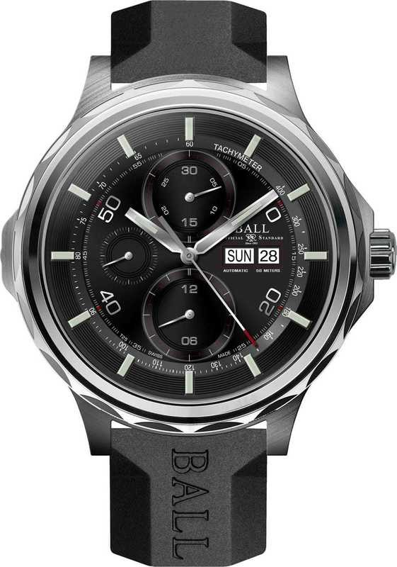 Ball Watch Engineer Master II Slide Chronograph CM3888D-P1J-BK