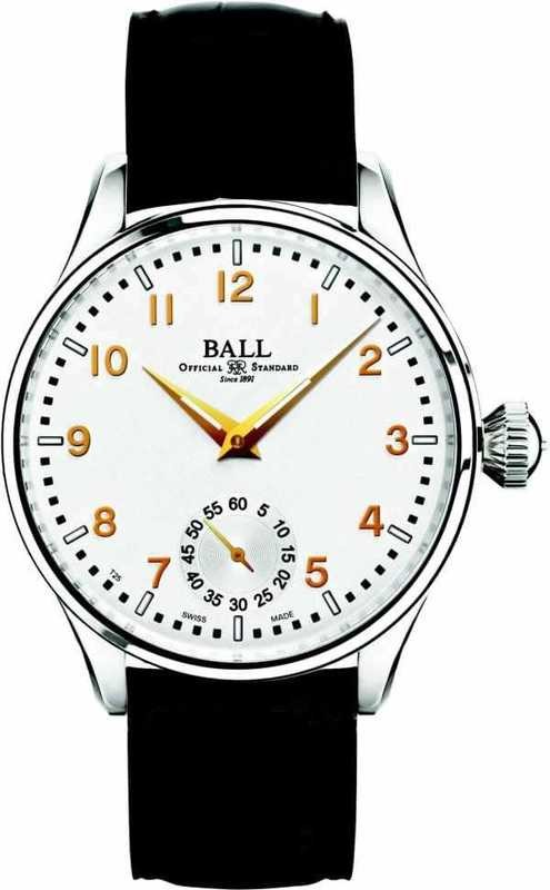 Ball Watch NEW Trainmaster Officer NM3038D-LJ-WH