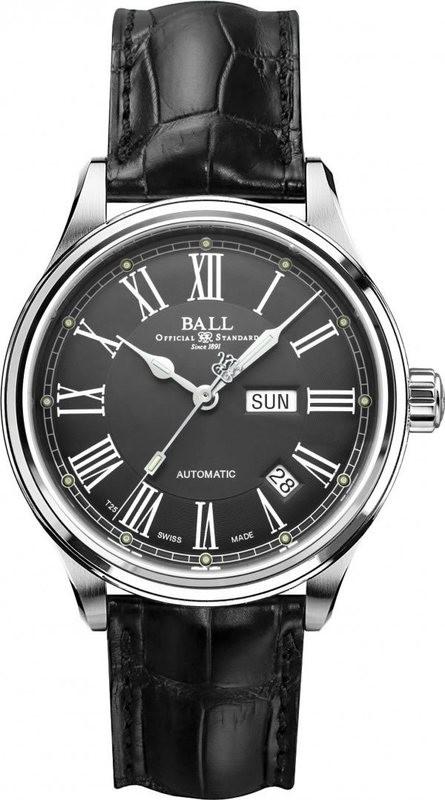 Ball Watch Train Master Roman NM1058D-L4J-GY