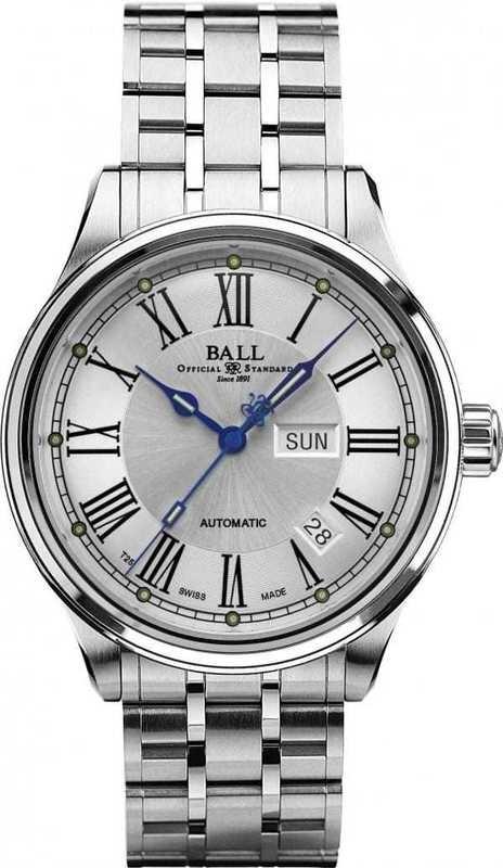 Ball Watch Train Master Roman NM1058D-S4J-WH