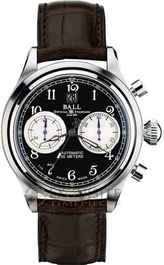 Ball Watch Trainmaster Cannonball Chronograph CM1052D-L1J-BK