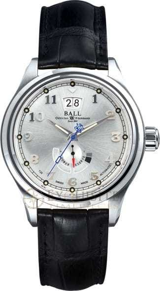 Ball Watch Trainmaster Cleveland Exp Power Reserve PM1058D-L1J-SL