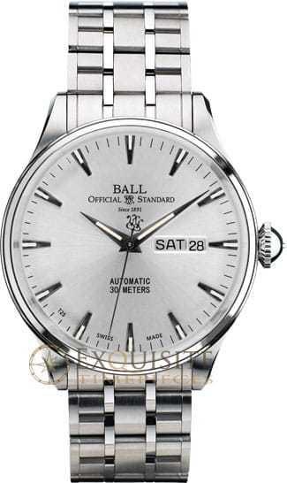 Ball Watch Trainmaster Eternity NM2080D-SJ-SL