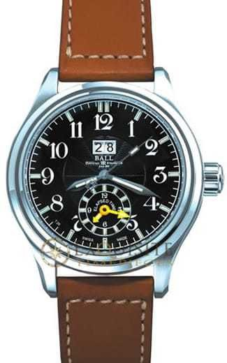 Ball Watch Trainmaster Dual Time GM1056D-LJ-BK