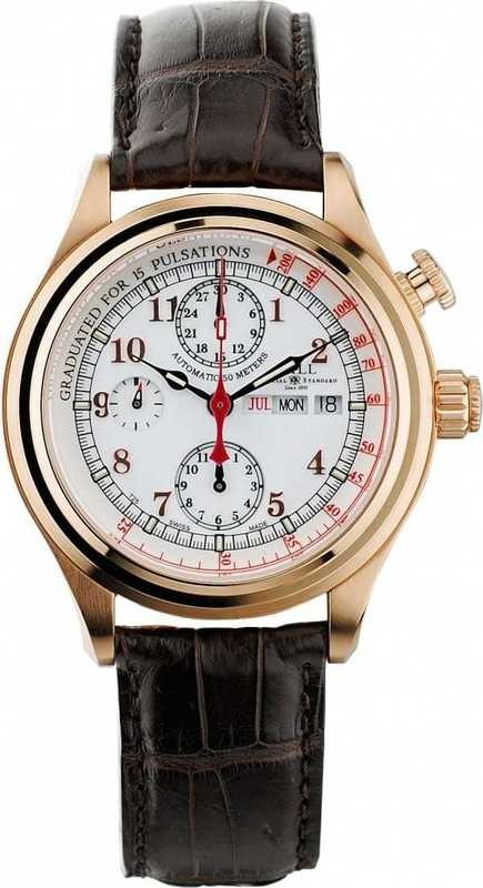 Ball Watch Trainmaster Doctor Chronograph CM1032D-PG-L1J-WH