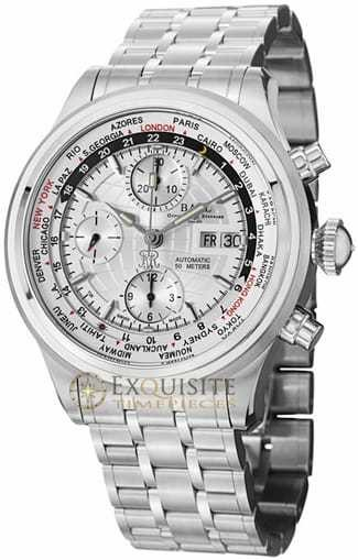 Ball Watch Trainmaster World Time GMT Chronograph CM2052D-SJ-SL