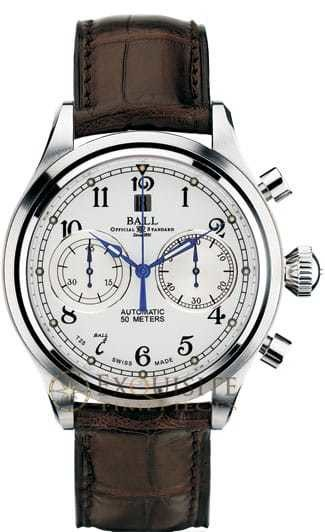 Ball Watch Trainmaster Cannonball Chronograph CM1052D-L3J-WH