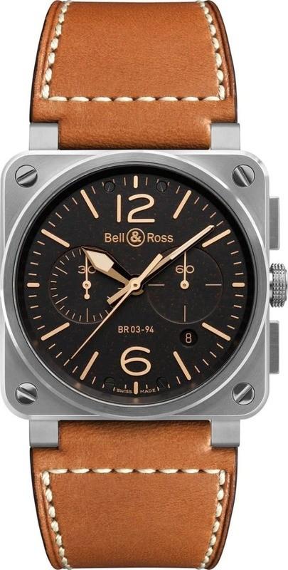 Bell & Ross BR 03-94 Golden Heritage BR0394-ST-G-HE-SCA