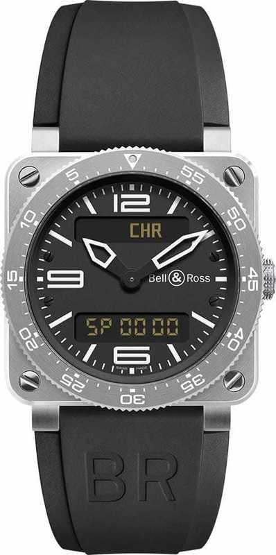 Bell & Ross BR03-92 Type Aviation Steel Finish BR0392-AVIA-ST