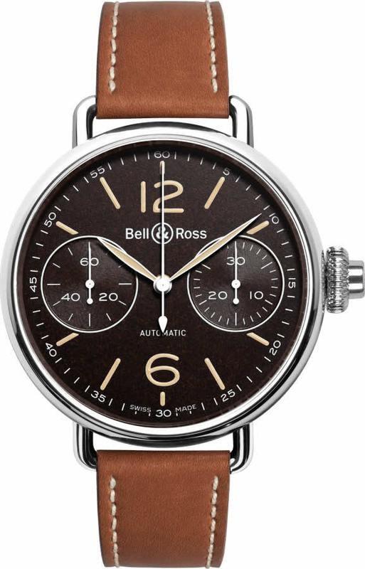 Bell & Ross WW1 Chronographe Monopoussoir Heritage BRWW1-MONO-HER-SCA