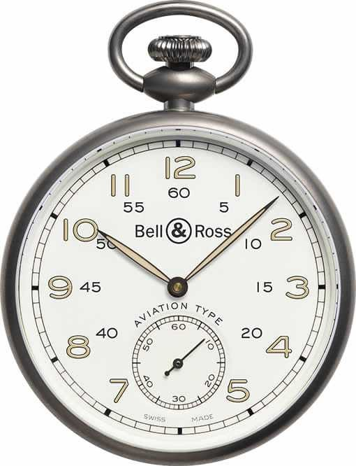 Bell & Ross HERITAGE WHITE DIAL BRPW1-WH-TI