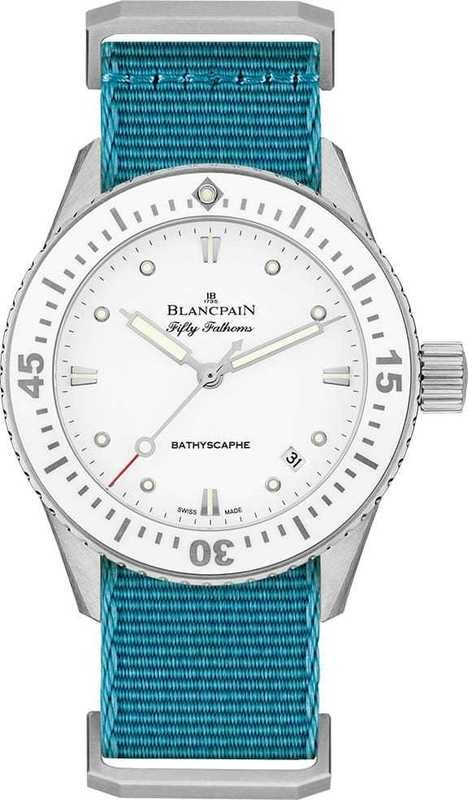 Blancpain Fifty Fathoms Bathyscaphe 5100-1127-NAT