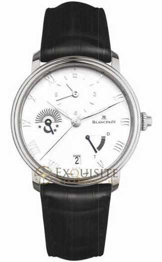Blancpain Villeret Half Timezone 6660-1127-55B