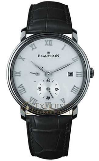 Blancpain Villeret Ultra Slim Date and Power Reserve In Stainless Steel 6606-1127-55B