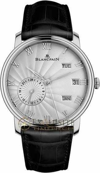 Blancpain Villeret Annual Calendar With GMT 6670-1542-55B