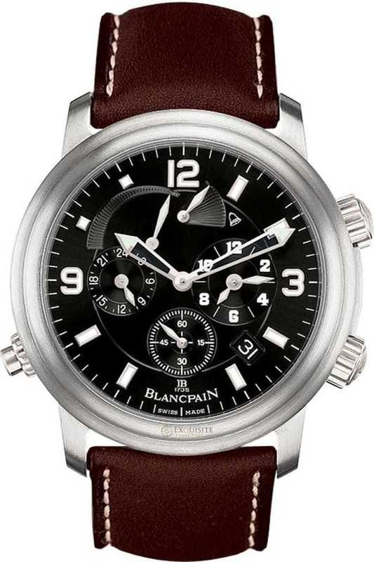Blancpain Leman GMT Alarm Date 2041-1230-63B