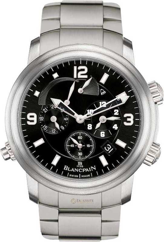Blancpain Leman Reveil GMT 2041-1230-98B