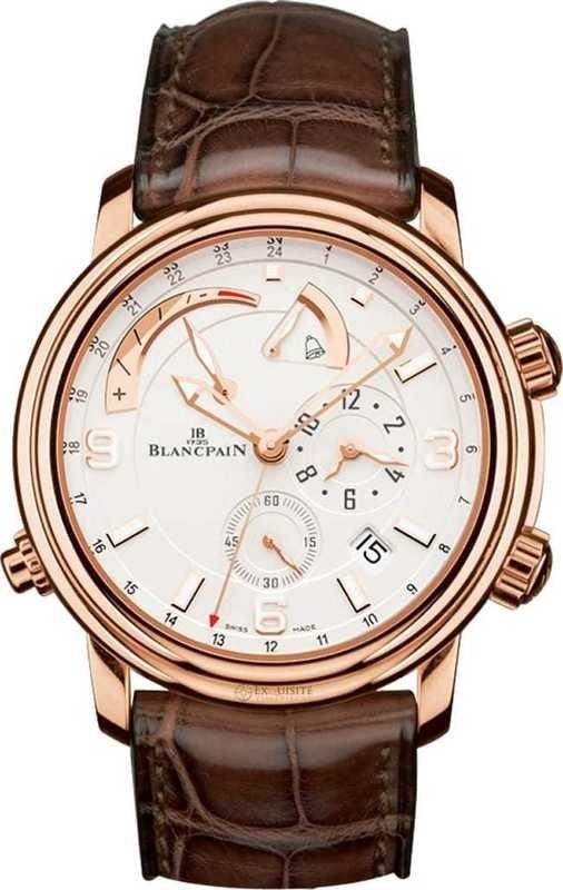 Blancpain Leman GMT Alarm Date 2841-3642-53B