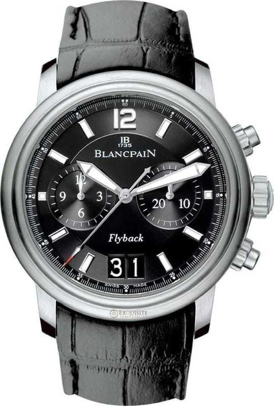 Blancpain Leman Chronographe Flyback Grande Date 2885F-11B30B-53B