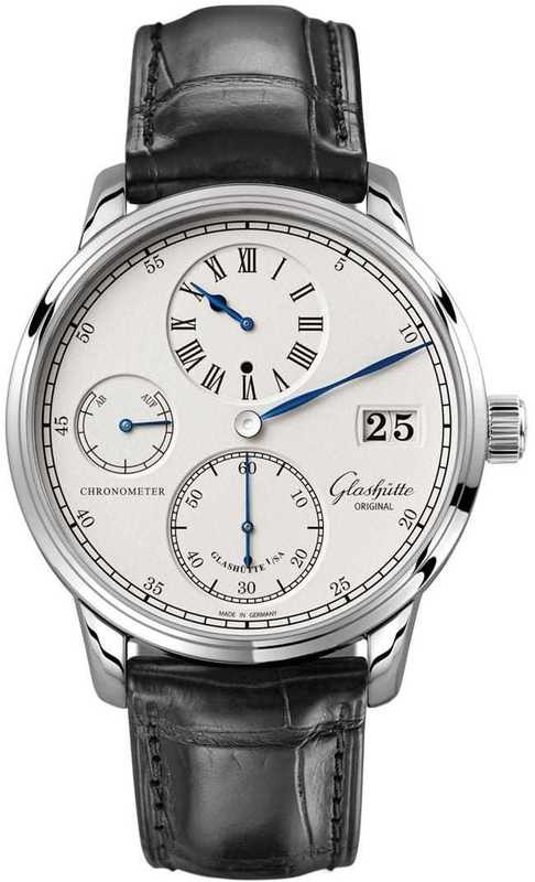 Glashütte Original Senator Chronometer Regulator White gold 1-58-04-04-04-04