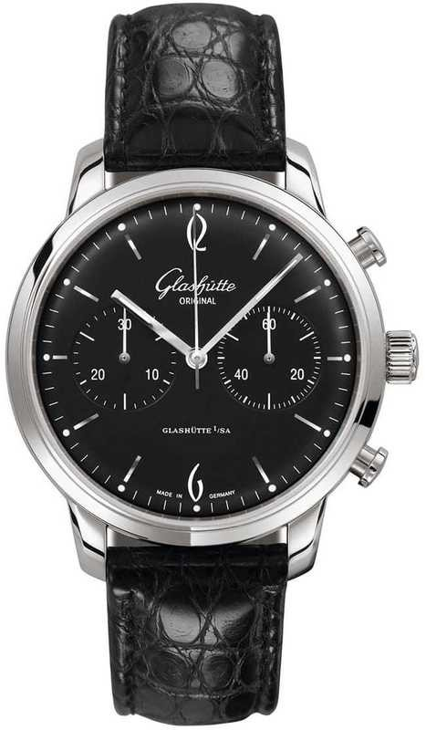 Glashütte Original Senator Sixties Chronograph 39-34-02-22-04