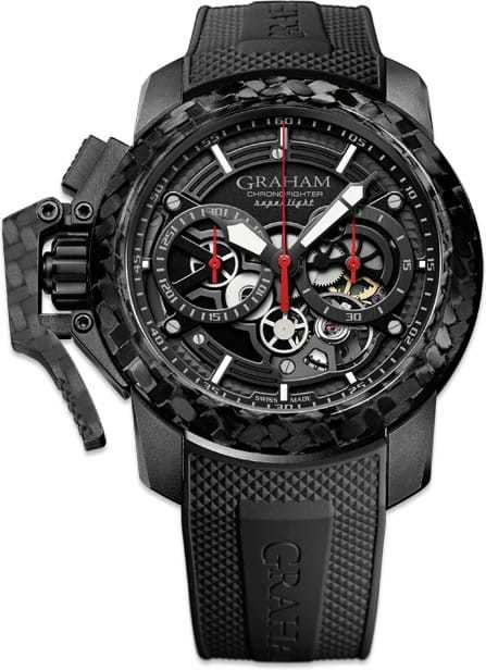Graham Chronofighter Superlight Carbon Skeleton 2CCBK.B25A