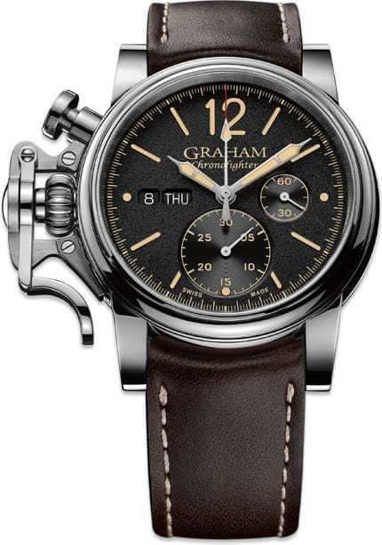 Graham Chronofighter 1965 Vintage 2CVAS.B01A.L126S