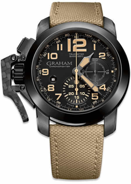 Graham Chronofighter Black Sahara 2CCAU.B02A