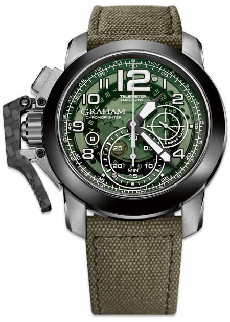 Graham Chronofighter Oversize Target 2CCAC.G03A